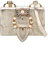 Miu Miu Madras crystal embellished bag