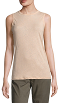 James Perse Tomboy Cotton Sleeveless Top