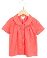 Chloé Girls' Collared Button-Up Top w/ Tags