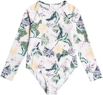 Roxy Kids' Lovely Senorita One-Piece Rashguard Swimsuit