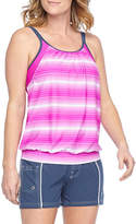 Free Country Blouson Swimsuit Top