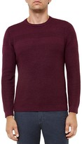 Ted Baker Mixed Stitch Crewneck Sweater