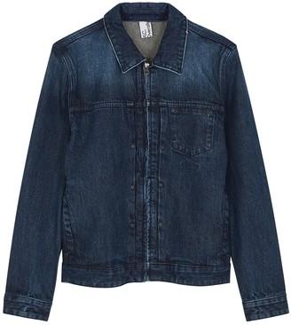 MC OVERALLS Dark Blue Denim Jacket