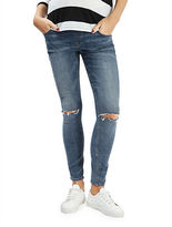 Topshop MATERNITY MOTO Ripped Jamie Jeans 30-Inch Leg