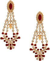 Mawi Rose gold Crystal Chandelier Earring