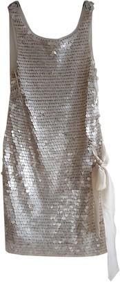 Philosophy di Alberta Ferretti Ecru Silk Dress for Women