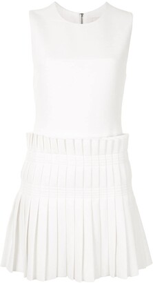 Dion Lee Pleated Panel Mini Dress