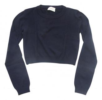 Vicolo Navy Wool Knitwear