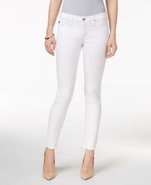 AG Jeans Legging Ankle White Super Stretch Twill - Super Skinny Ankle