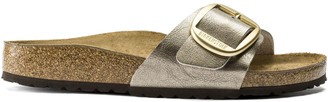 Birkenstock Madrid Big Buckle Graceful Taupe Sandal - 36/ narrow fit