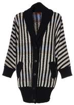 Missoni Women's White/black Wool Cardigan.