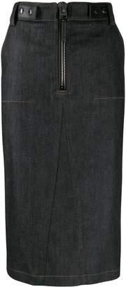 Tom Ford denim pencil skirt