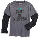 Under Armour Can't Be Stopped Graphic T-Shirt (Toddler Boys & Little Boys)