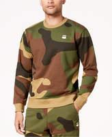 G Star Men's Stalt Camouflage Fleece Sweatshirt
