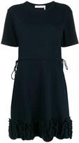 See by Chloe jersey ruffle trim dress