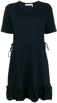 See by Chloe jersey ruffle trim dress