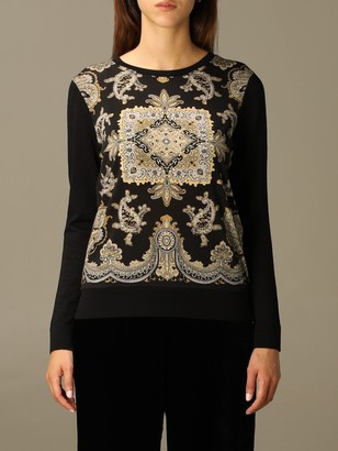 Etro Sweater Sweater In Paisley Wool Blend