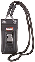 Hunter Rubberized Leather Phone Pouch