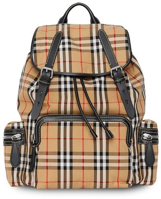 Burberry The Large Rucksack in Vintage Check backpack