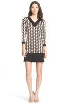 Leota Geo Print Jersey Shift Dress
