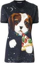 Dolce & Gabbana dog print T-shirt
