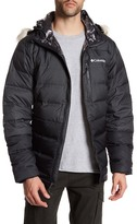 Columbia North Protection Faux Fur Trim Hooded Jacket