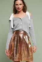 Maeve Rose Gold Mini Skirt