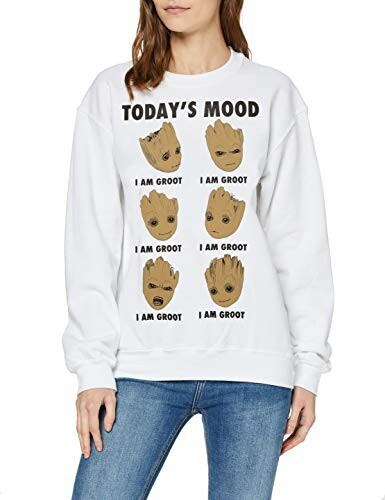Thumbnail for your product : Marvel Women's Guardians of The Galaxy Vol 2 Groot Today's Mood Sweatshirt