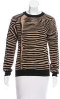 A.L.C. Wool Open Back Sweater