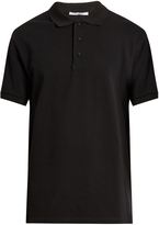 Givenchy Columbian-fit cobra-appliqué cotton polo shirt