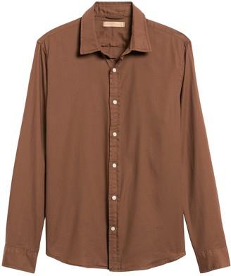 Banana Republic Heritage Slim-Fit Garment Dye Shirt
