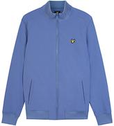 Lyle & Scott Zip Through Soft Shell Jacket, Storm Blue
