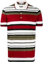 Salvatore Ferragamo horizontal striped polo shirt - men - Cotton - S