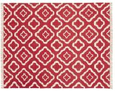 Pottery Barn Lily Recycled Yarn Indoor/Outdoor Rug - Red