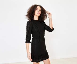 Oasis Broderie Prarie Dress