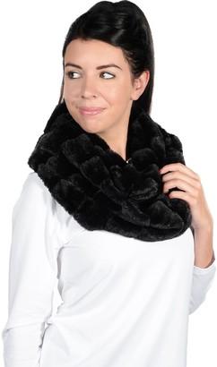 Women's Igloo Faux Fur Infinity Scarf