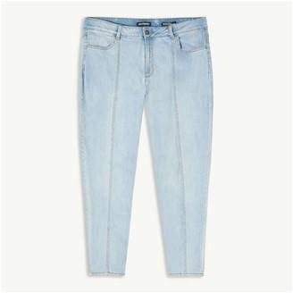 Joe Fresh Women+ High-Waist Jeans, Bright Blue (Size 16)