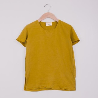 Folk Woven Crew Golden Yellow - 4