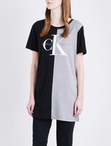 Calvin Klein Toni two-toned jersey T-shirt