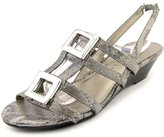 Karen Scott Serha Women US 7 Gray Slingback Sandal