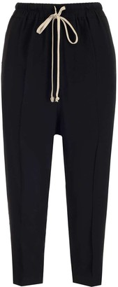 Rick Owens Drawstring Cropped Sweatpants
