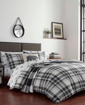 Eddie Bauer Coal Creek Plaid Comforter Set, Twin