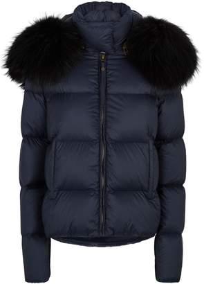 Mr & Mrs Italy Fur-Trim Puffer Jacket