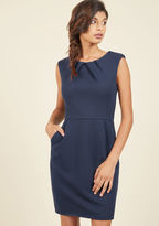 ModCloth Celebrated Chemist Sheath Dress in L