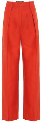 Jacquemus Carini cotton-blend wide-leg pants