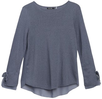 Nic+Zoe Essence Tie Sleeve Top