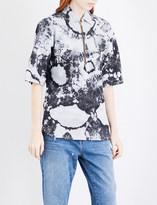 Aries Bleached denim shirt