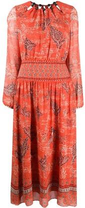 Saloni Thala floral print dress