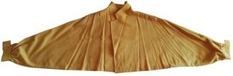 Yohji Yamamoto Yellow Wool Jackets