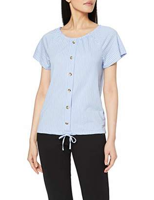 Tom Tailor Casual Women's Carmenshirt T-Shirt,8 (Size: X